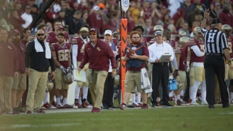 Former Florida State Ball Boy Red Lightning Is Going Pro With The Atlanta Falcons