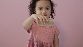 Watch This Adorable Little Girl Absolutely Nail Trick Shots Every Time