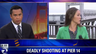 Watch As This San Francisco News Crew Is Mugged Live On-The-Air