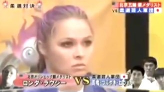 Remembering The Time Ronda Rousey Beat The Crap Out Of Three Men On A Japanese Game Show