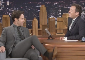 Paul Rudd Tried Unsuccessfully To 'Basic Instinct' Michael Douglas On The Set Of 'Ant Man'