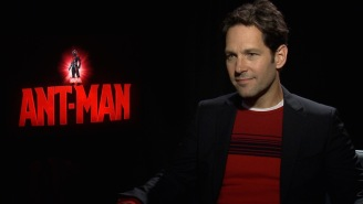 Paul Rudd couldn't wait for the pizza and Guinness when he wrapped 'Ant-Man'