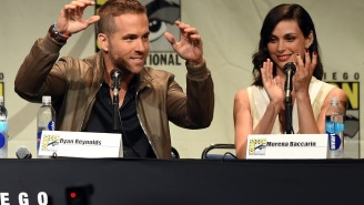 'Deadpool' Features Some 'Very Athletic' Sexy Times For Ryan Reynolds And Morena Baccarin