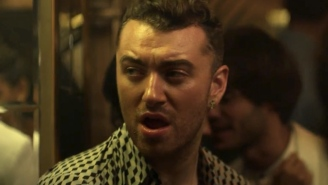Sam Smith all sweaty and sensual for Disclosure's new music video