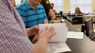 This Same-Sex Couple Filmed Themselves Getting Denied A Marriage License