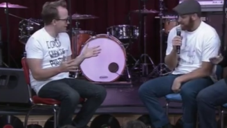 Chris Gethard Geeked Out Hard For WWE's Sami Zayn, Then Made Everybody Skank