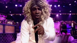 Deion Sanders Dressed Up Like Madonna To Lip Sync 'Like A Virgin'