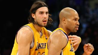 The Knicks Have Signed Former Lakers Guard Sasha Vujacic