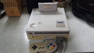 A Man Uncovered A Rare, Official Version Of The Original Playstation From Sony And Nintendo