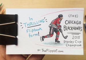 The Chicago Blackhawks' Stanley Cup Championship Is Even Better In Flip Book Form