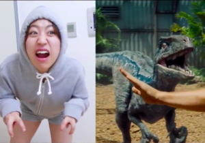 A Korean Fan Made A One Woman 'Jurassic World' Parody Trailer And It's Equally Awesome And Weird