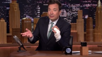 Jimmy Fallon Finally Explains The Horrific Finger Injury That Kept 'The Tonight Show' Off The Air