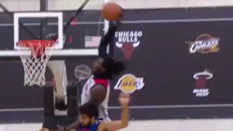 Watch This Monster Slam Dunk By Montrezl Harrell During Summer League Action
