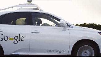 Google Self-Driving Car Got Into An Accident, But It Wasn't The Car's Fault