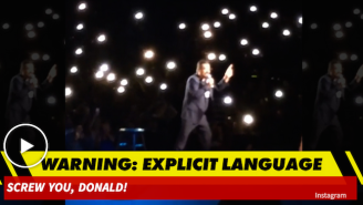 Watch George Lopez Lead An Incredibly Obscene Chant Against Donald Trump