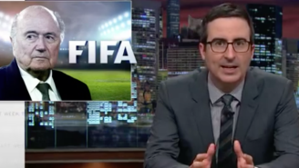 John Oliver Took Dead Aim At Sepp Blatter And Vladimir Putin