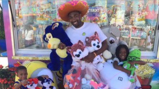 Gilbert Arenas' Lethal Jumper Got Him Banned From A County Fair