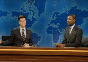 Why 'Weekend Update' Anchor On 'SNL' Is The Hardest Job In Comedy