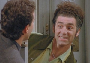 Cosmo Kramer Knew How To Make An Entrance On 'Seinfeld'