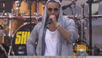 Shaggy Defeated ISIS On The 'Today' Show By Performing 'It Wasn't Me'