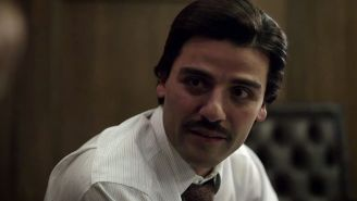 Oscar Isaac in the trailer for David Simon's new HBO miniseries 'Show Me a Hero'