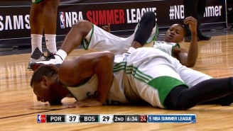 Marcus Smart Suffers GRUESOME Dislocated Fingers At Summer League