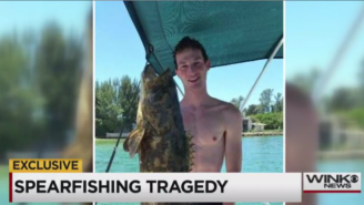 A Florida Man Is On Life Support After A Horrible Spearfishing Accident