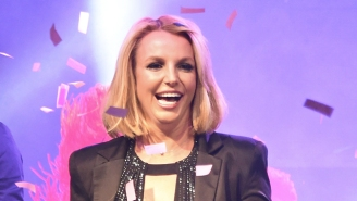 Britney Spears Reinvented Her 'Oops' Album Cover With Her Sons