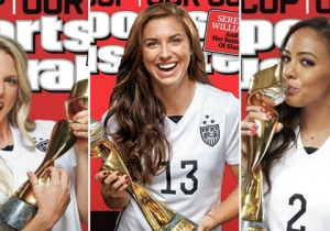 Sports Illustrated Publishes Historic 25 Covers For Women's World Cup Champions