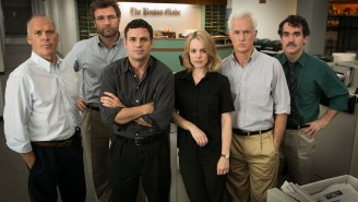 Mark Ruffalo and Rachel McAdams investigate Catholic Church priests in 'Spotlight'