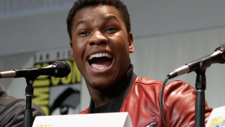 155 days until Star Wars: John Boyega dropped a 'Force Awakens' spoiler on Instagram