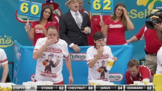 Matt Stonie Defeats Joey Chestnut To Win The Nathan's Hot Dog Eating Contest