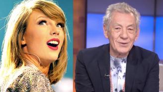 Sir Ian McKellen Did A Dramatic Reading Of Taylor Swift's 'Bad Blood'