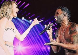 Taylor Swift's Tour Of Famous Friends Continues, This Time With Jason Derulo