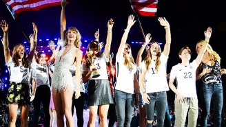 Taylor Swift Basically Hosted A Party Full Of Famous, Beautiful People Over The Weekend