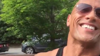 Turns Out The Rock Was Just Trolling Everyone With His Gross Broken Finger