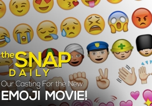 The Snap Daily: Is the new emoji movie our endtimes?