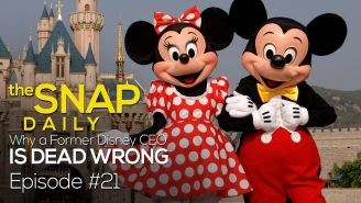 The Snap Daily: Why Michael Eisner is dead wrong about funny women