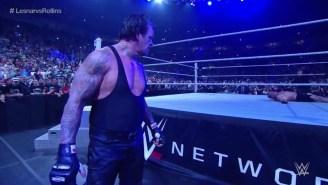 Watch The Undertaker Return To Get Revenge On Brock Lesnar At WWE Battleground 2015