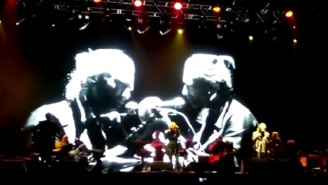 Thom Yorke Performs First Live Show Of The Year And Drops By A Portishead Show Too