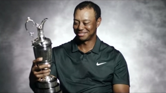 Watch Tiger Woods And Past British Open Champions Get Emotional Talking About The Claret Jug