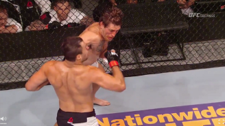 Check Out Tom Lawlor's Filthy Right Hook KO At UFC On Fox 16