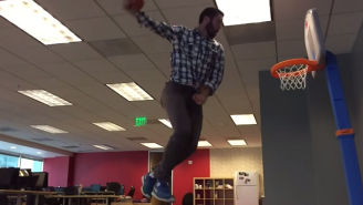 'Space Jam' Music Makes Everything Better, Like Dunking On Toy Hoops