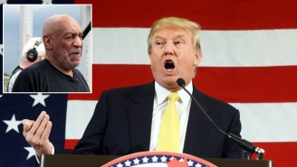 Donald Trump Puts The Smackdown On 'Guilty As Hell' Bill Cosby