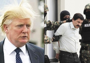 Donald Trump Called In The FBI After El Chapo's Son Allegedly Threatened Him