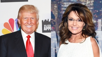 Donald Trump Would 'Love' To Add Sarah Palin To His Administration