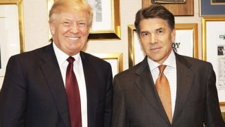 Donald Trump Is Trolling Rick Perry On Instagram Now