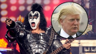 CNN Was Dying To Ask Gene Simmons His Opinion On Donald Trump