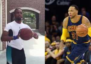 Watch The Internet's Best NBA Impersonator Mimic Shawn Marion's Shot