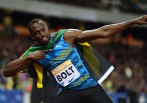 Usain Bolt Sneaks A Wonderful Dance Into This Reporter's Clip